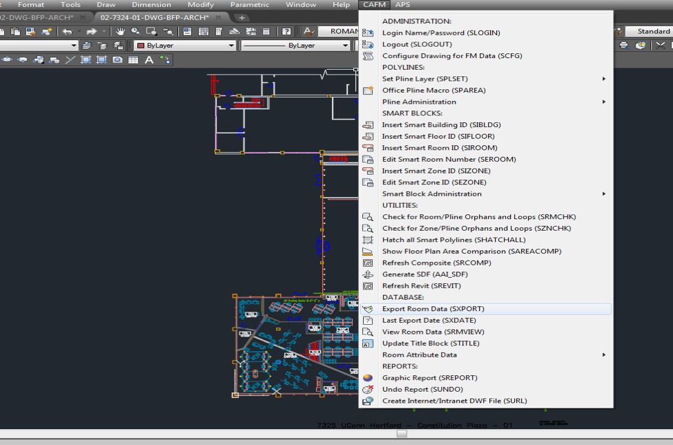 Space Management Drawing Workflow Validate In Autocad